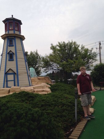 Fun Fore All : Loved the lighthouse!