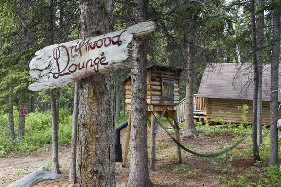 Tagish Wilderness Lodge : After a hard day's canoeing, you need a little rest.