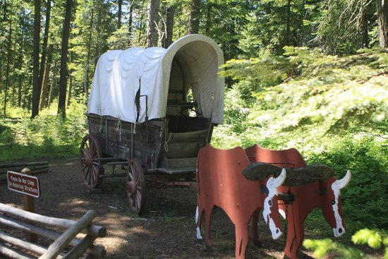 Meacham, OR: Covered Wagon