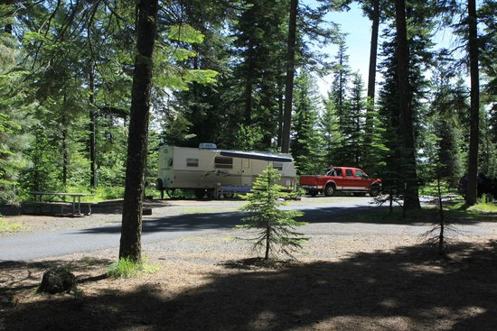 Meacham, OR: Full Campsite
