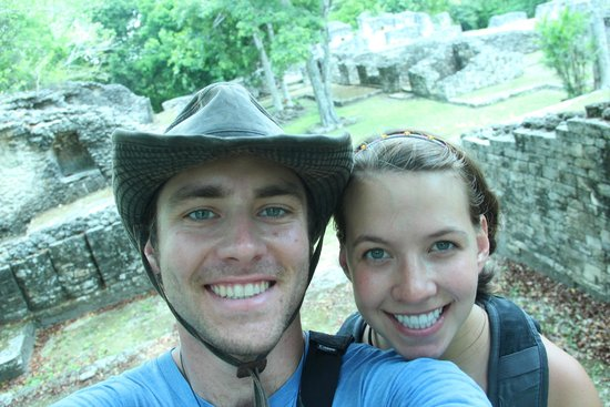 The Explorean Kohunlich by Fiesta Americana : Hiking around the Kohunlich ruins.