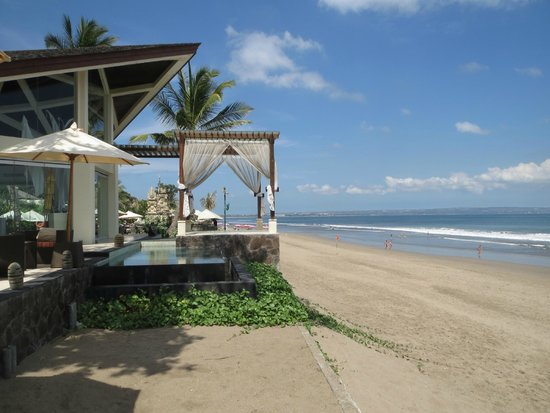 The Seminyak Beach Resort & Spa: View from lunch
