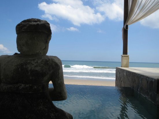 The Seminyak Beach Resort & Spa: view from bar