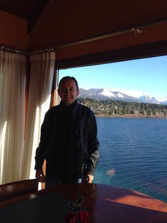 Charming Luxury Lodge & Private Spa: Vista do restaurante do hotel
