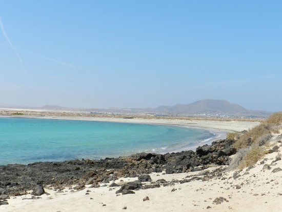 Isla de Lobos: playa de la concha