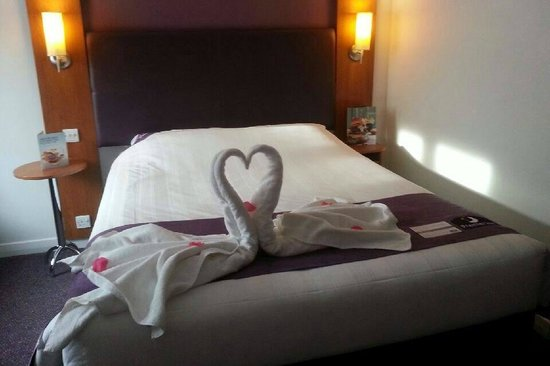 Premier Inn Inverness Centre (River Ness) Hotel: Valentines Day at the Hotel.