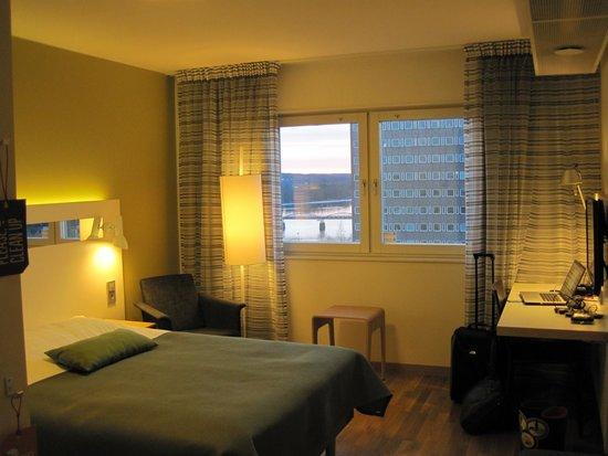 Scandic Plaza Umea: Room on 4th floor