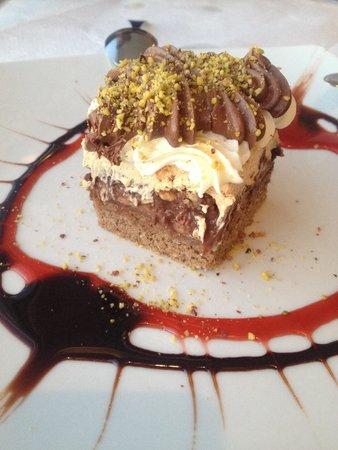 Naoussa Restaurant: Banofee pie!!!!!