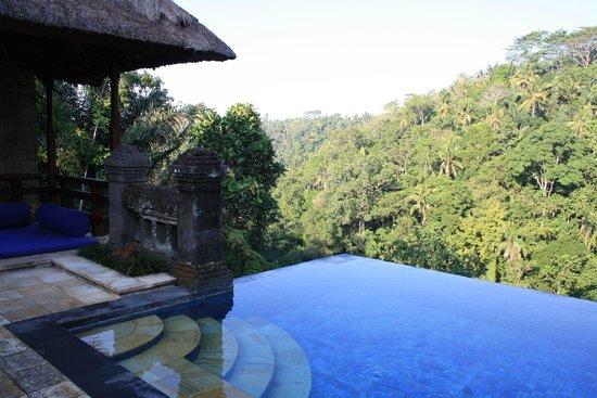 Puri Wulandari Boutique Resort: private pool in villa