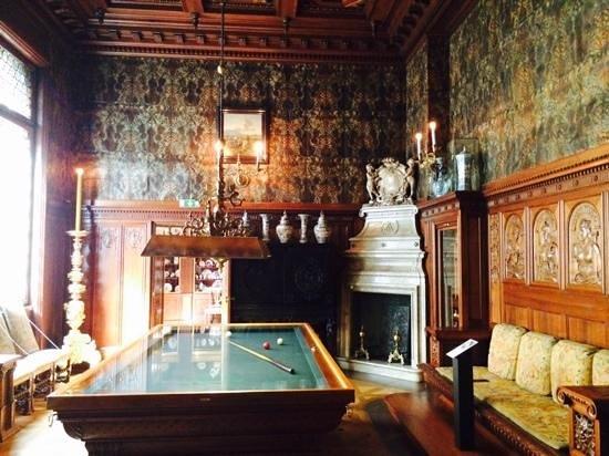 Museo Hallwyl: Billiard room