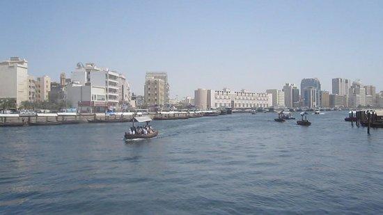 Dubai Creek: La Creek, vue sur Deira