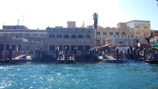 Dubai Creek: Le quai des Abbras à Bur Dubai
