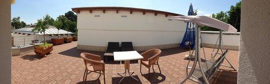 Residence Balaton Conference & Wellness Hotel: The terrace