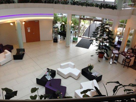 Residence Balaton Conference & Wellness Hotel: The entrance area