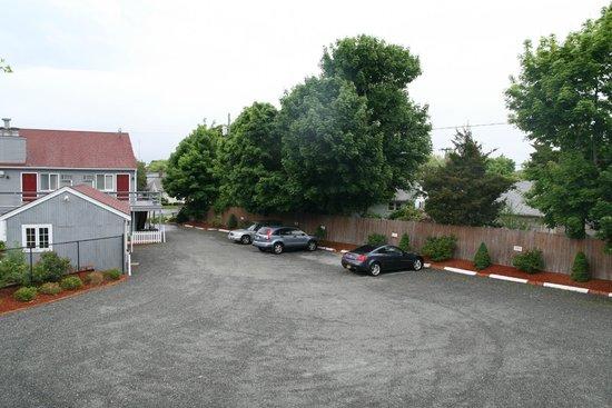Red Horse Inn - Falmouth: Aussicht auf den Innenhof