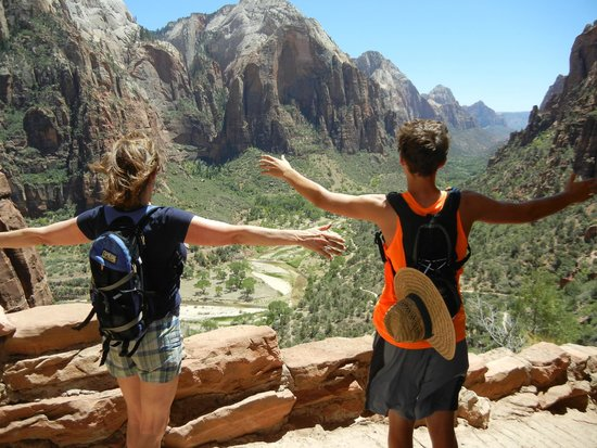 Flanigan's Inn: Hiking Zion!
