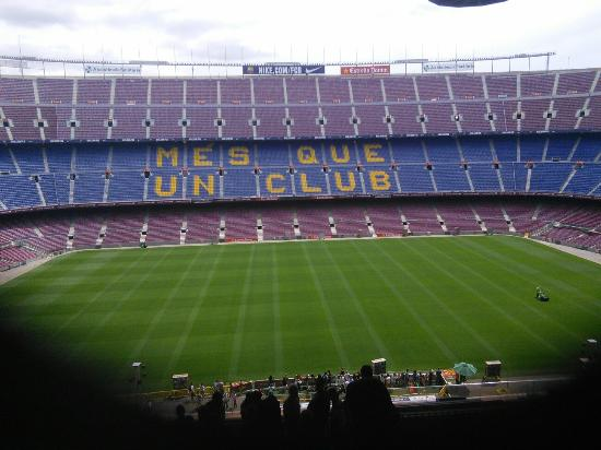 Photo of Camp Nou taken with TripAdvisor City Guides