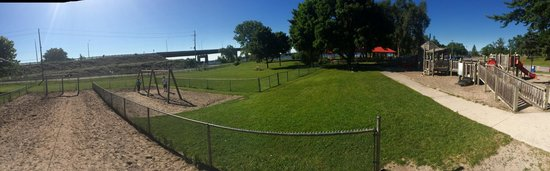 Zwick Centennial Park: The playground and the kids omega