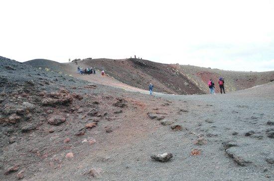 Monte Etna: Кратер Сильвестре