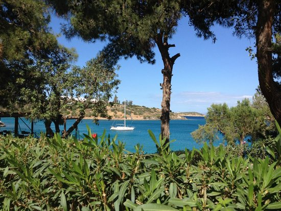 Minos Beach Art hotel: Minos beach view