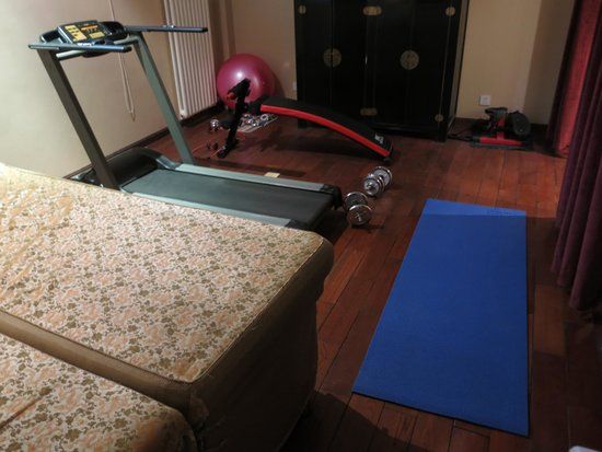 Red Wall Garden Hotel: Fitness room at the hotel