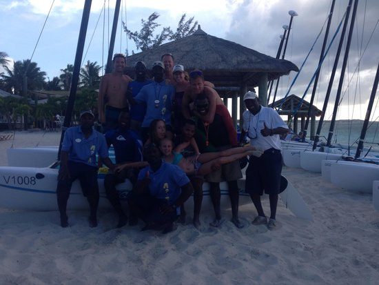 Beaches Turks & Caicos Resort Villages & Spa : This is the team that keeps is coming back year after year. Keep up the good work Watersports!!!
