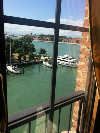 Residenza Grandi Vedute: Out our Kitchen window