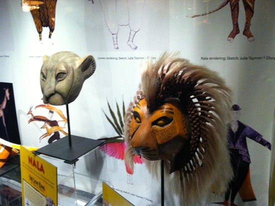 John F. Kennedy Center for the Performing Arts: Costumes from the Lion King