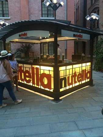 Residenza Grandi Vedute: If you like Nutella, there is a Nutella Bar at the Hilton next door