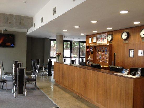 Ruskin Hotel : Ruskin inside