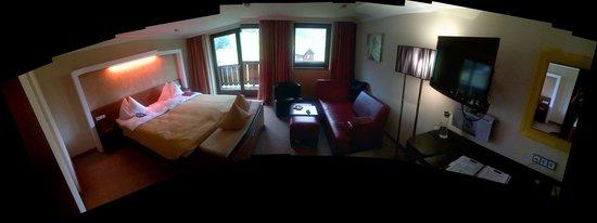 Alpinresort Sport & Spa : chambre