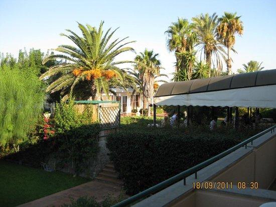 Florio Park Hotel : Les jardins