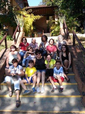 Fazenda Gamela Eco Resort: Parte do grupo.