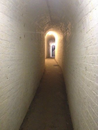 The Needles Battery: in tunnel