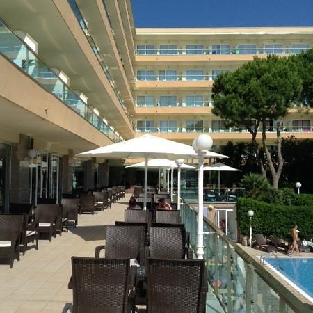 Las Vegas Hotel: outside sun terrace