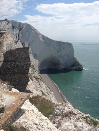 The Needles Battery: shipwreck location
