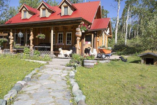 The Cabin: The main lodge.