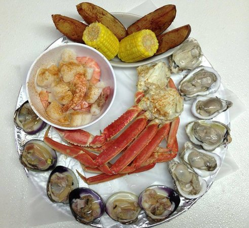 Sting Ray Cafe: captain's platter