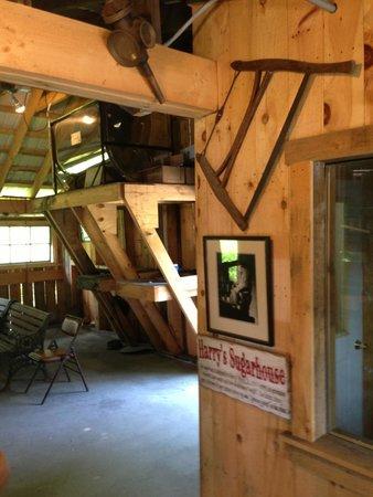 Morse Farm Maple Sugarworks: Inside