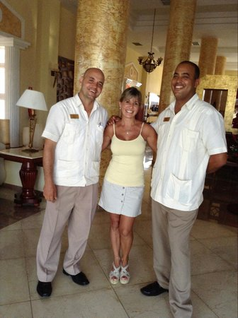 Paradisus Varadero Resort & Spa: alex y serguey