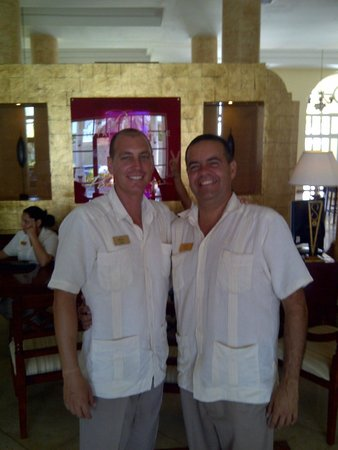 Paradisus Varadero Resort & Spa: rolando y yamir