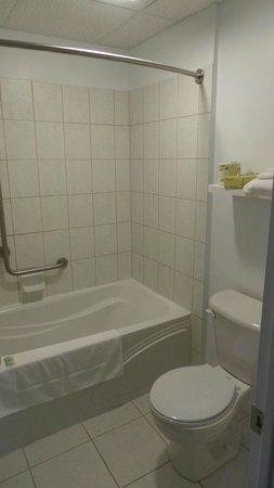Auberge de la Pointe: Salle de bains et toilettes