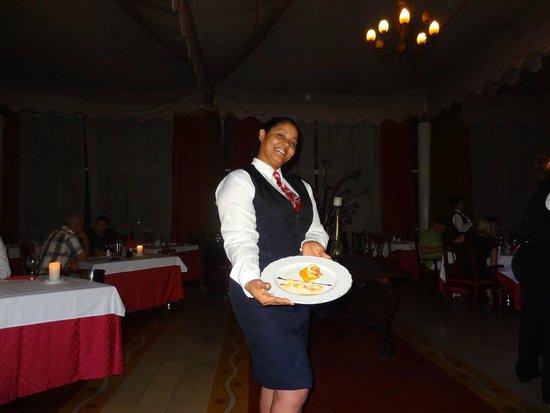 Paradisus Varadero Resort & Spa: yereisy restaurante romantico