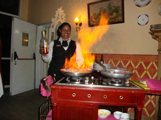 Paradisus Varadero Resort & Spa: yereisy capitana romantico