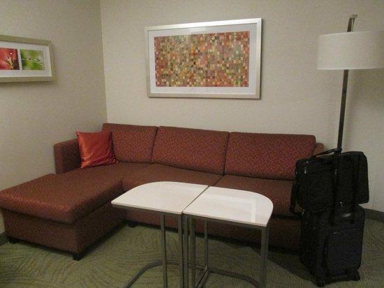 SpringHill Suites Columbus OSU: Livingroom area