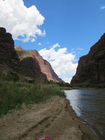 Dinosaur River Expeditions : Looking back on The Gates of Lodore