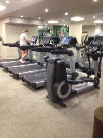 The Westin Washington, D.C. City Center: Quality of gym far above hotel average