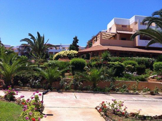 Anissa Beach Hotel : Лобби бар, рецепшен