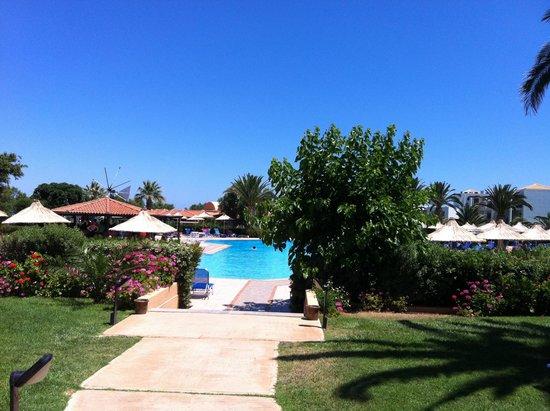 Anissa Beach Hotel: Бассейн