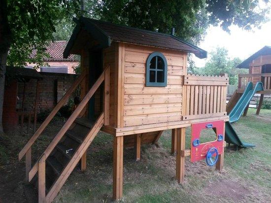 Four Bells Inn: The outside play equipment for the kids